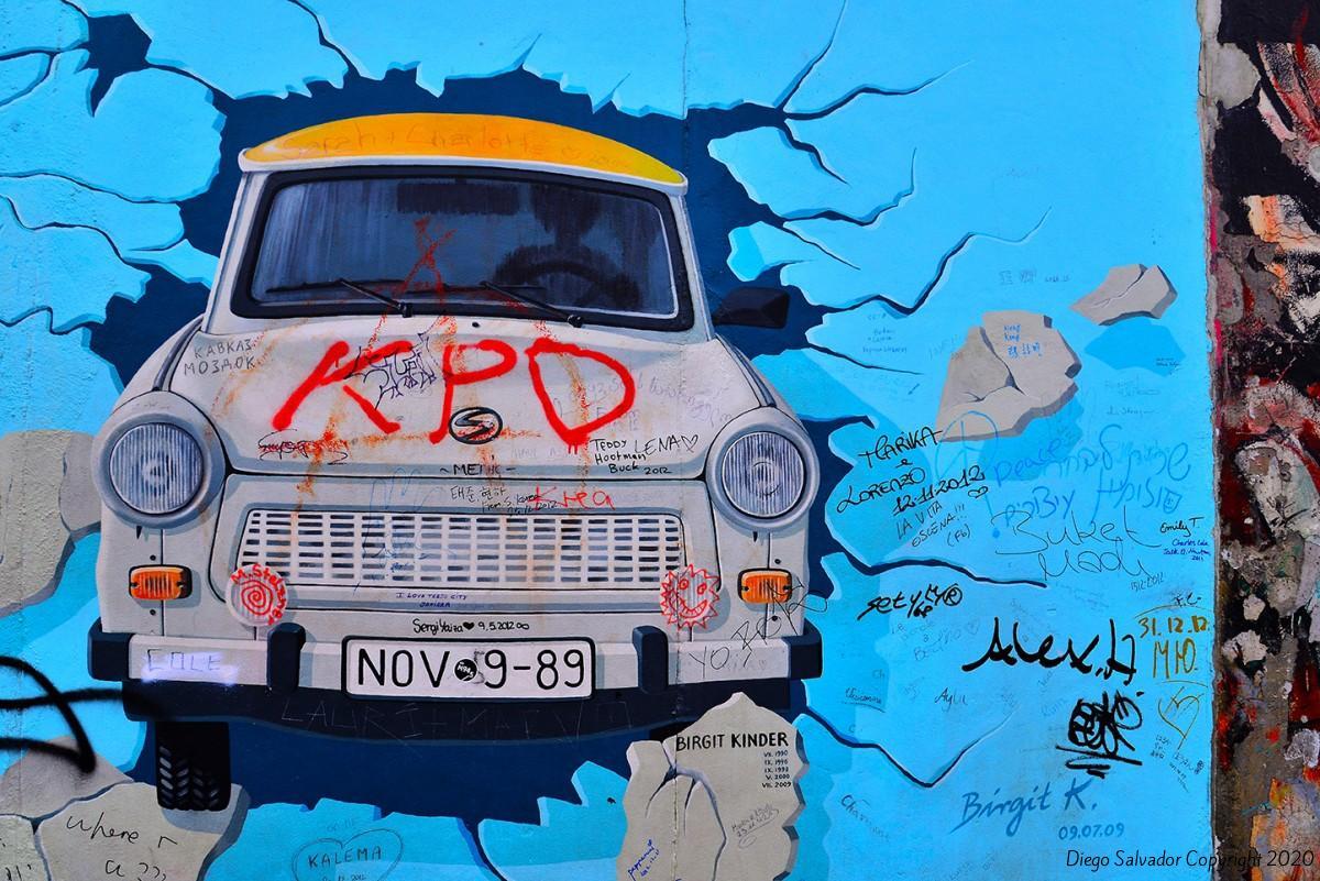 2012 - The Wall I - Diego Salvador